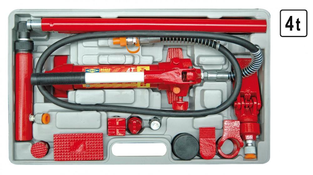 Karosseriepresse Hydraulischer Ausbeulwerkzeug Ausbeul Richtsatz Dozer Presse 4 Tonner